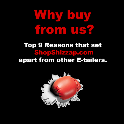 Top 9 reasons why you should shop at our online store - ShopShizzap.com