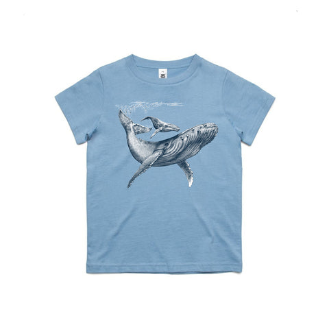 Kids Limited Edition 'Humpback Whale' T-Shirt