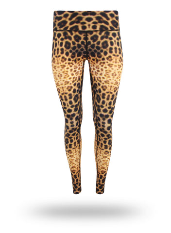 Leopard Shark Eco Leggings - Repreve® Fabric
