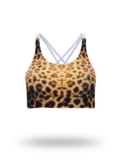 Leopard Shark - Crop Top - Repreve® Fabric