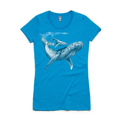 Women's 'Wafer Cut' Limited Edition Humpback T-shirt