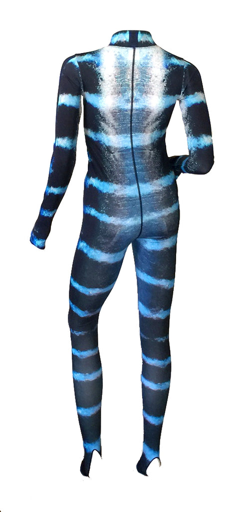Womens - Wahoo Print - Surf & Stinger Suit - Front Zip - Repreve® Fabric