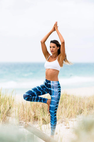 Wahoo Eco Leggings - Repreve® Fabric
