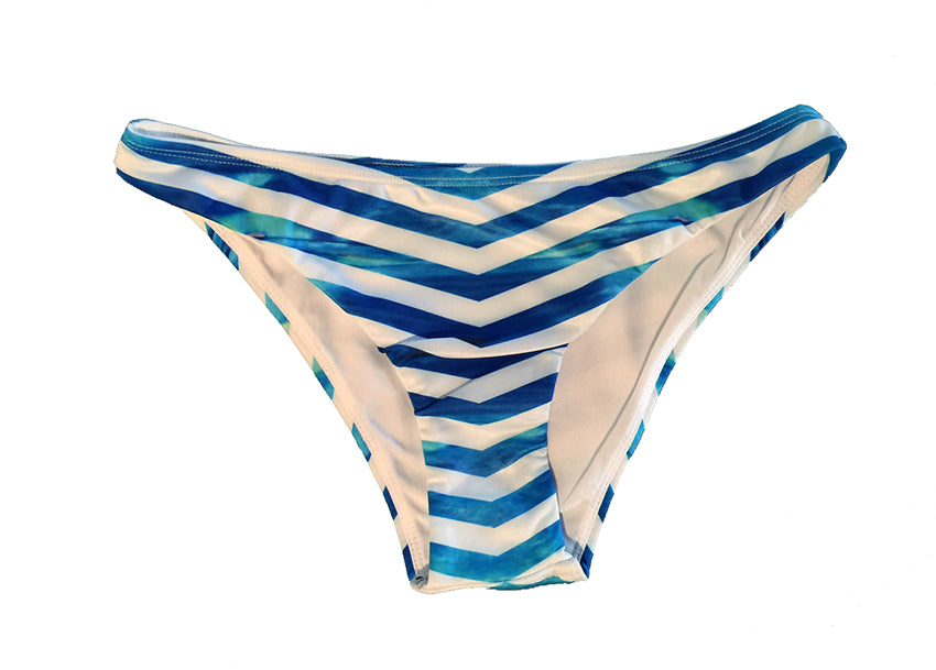 Marina Parrotfish Seamless - Full Brief Bikini Bottoms - Repreve® Fabric