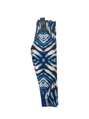 Ningaloo Stripe Capri 3/4 Leggings Repreve® Fabric
