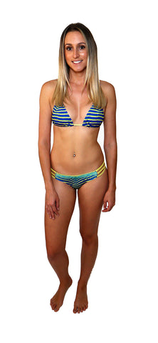 Angelfish Tri Bikini Top - Repreve® Fabric