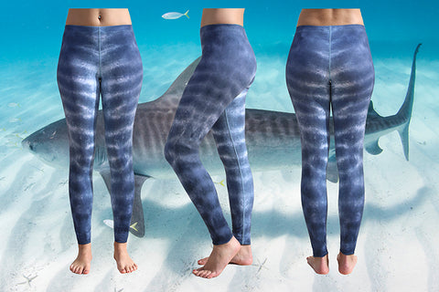 Tiger Shark Eco Leggings - Repreve® Fabric