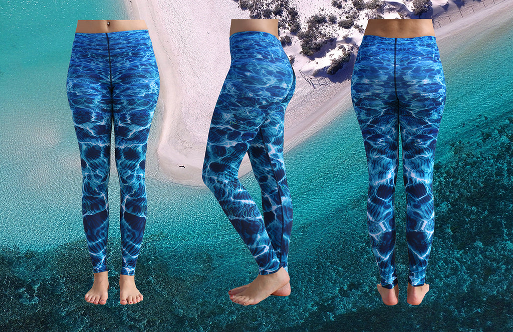 Turquoise Bay Leggings - Repreve® Fabric