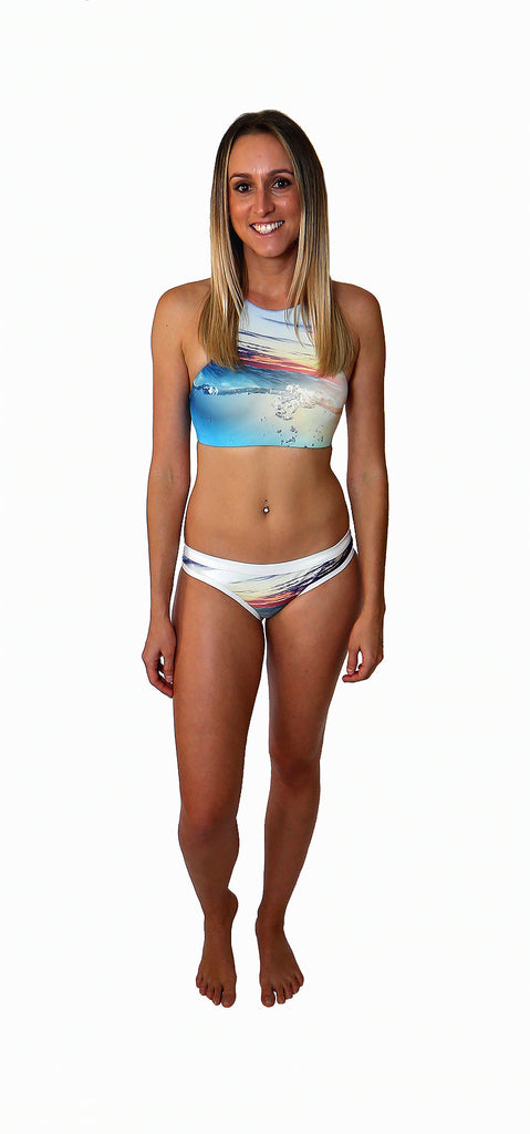 Zoey - Sunset Reef - Full Brief - Repreve® Fabric