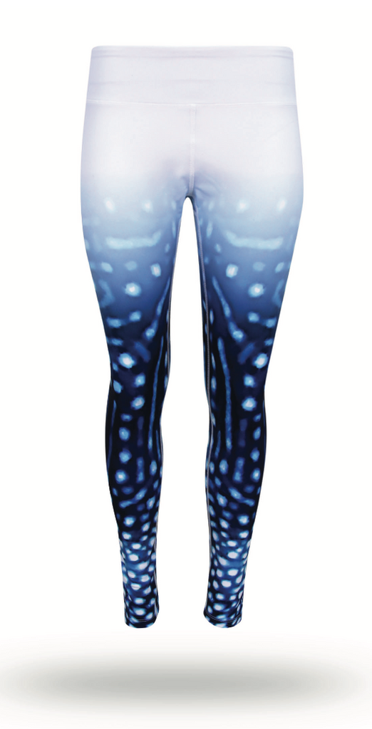 Whale Shark Eco Fade Yoga Leggings