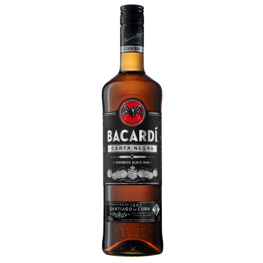 Bacardi premium collection - Carta Negra - SRB20D