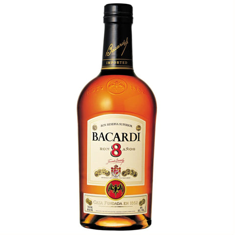 Bacardi premium collection - 8 Year Old - SRB31D