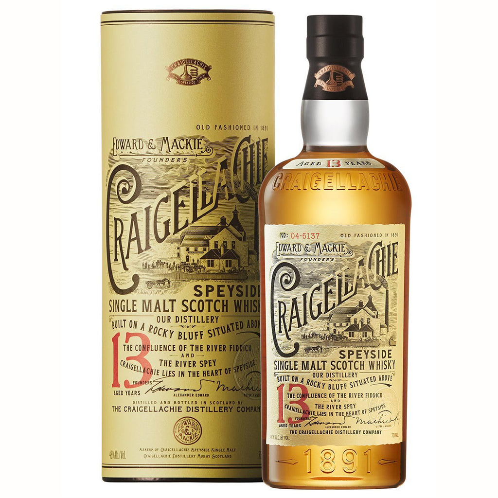 Speyside single malts - Craigellachie 13 Year Old - SWD50D