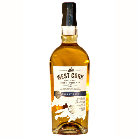 West Cork 12 YO Irish Single Malt Sherry Cask Finish