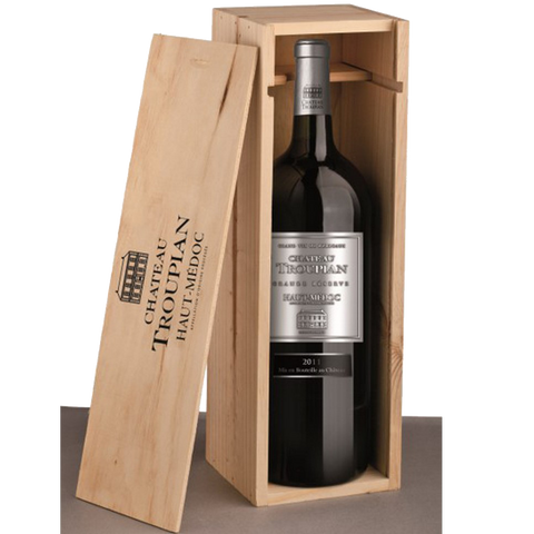 Chateau Tropian Haut Medoc with Metallic Label Magnum