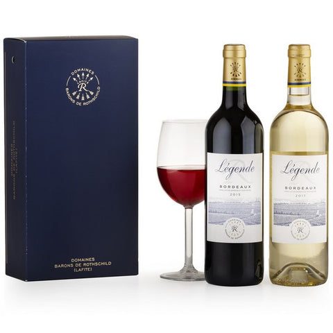 Collection Barons de Rothschild [LAFITE] Legende Rouge and Blanc in a Gift Box