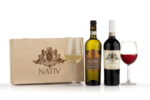 Nativ Greco di Tufo & Taurasi in a Gift Box