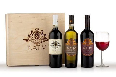 Nativ Greco di Tufo, Taurasi & Aglianico in a Gift Box
