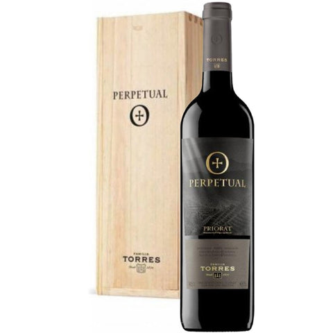 Familia Torres Perpetual Priorat 2015 in a Wooden Box