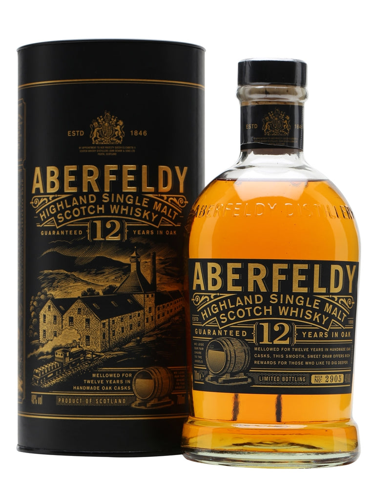 Aberfeldy 12YO Single Malt Scotch Whisky
