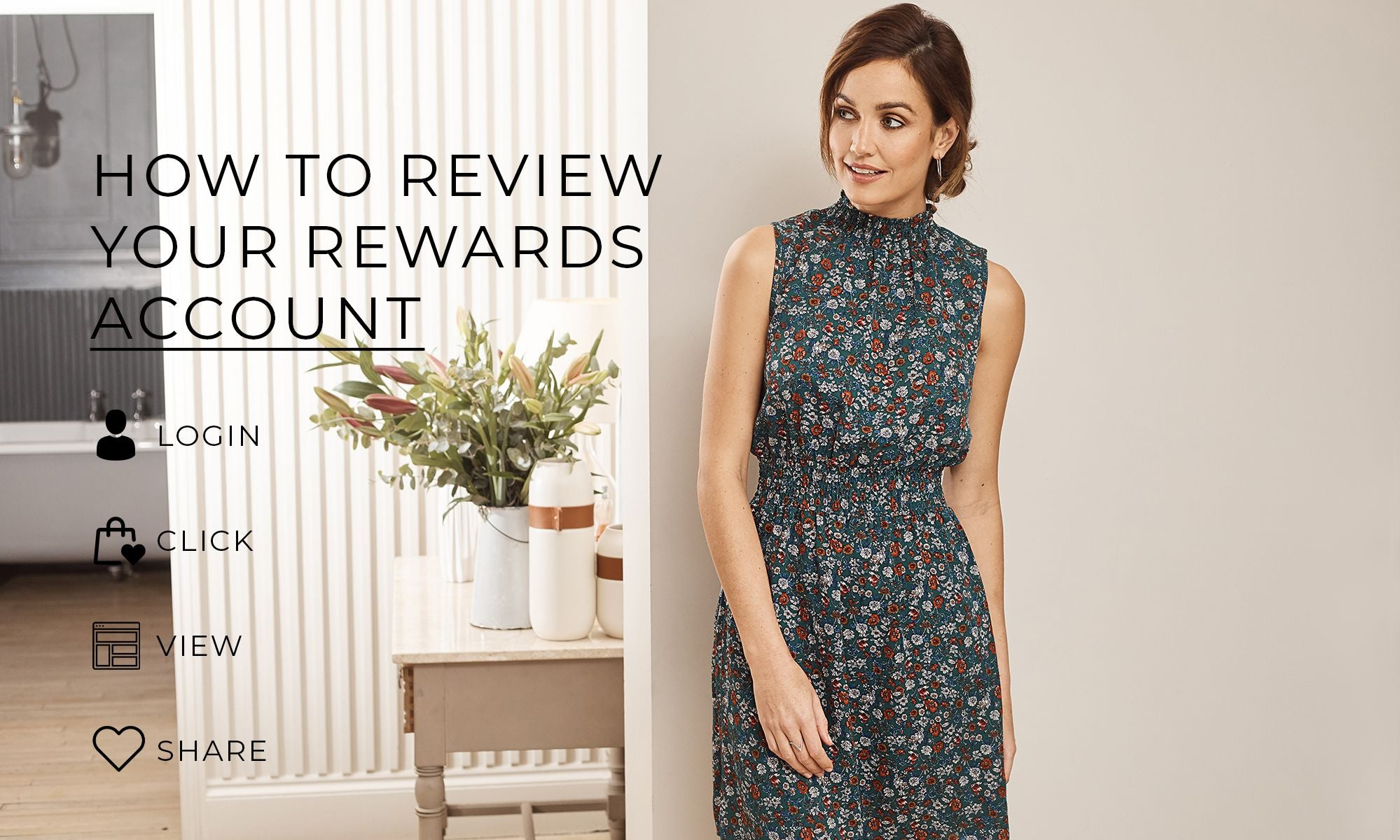 Izabel London How to Review Your Rewards Account