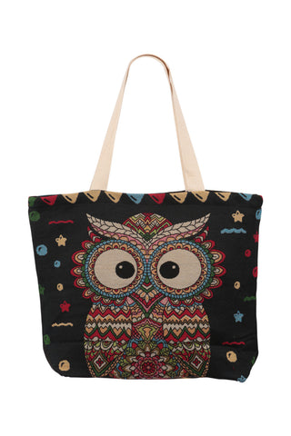 Ethnic Canvas Grab Bag