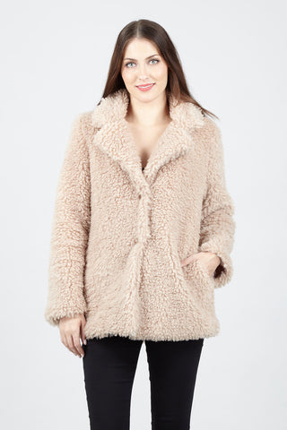Faux Fur Hooded Gilet