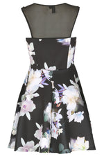 Tropical Floral Print Dress - Izabel London