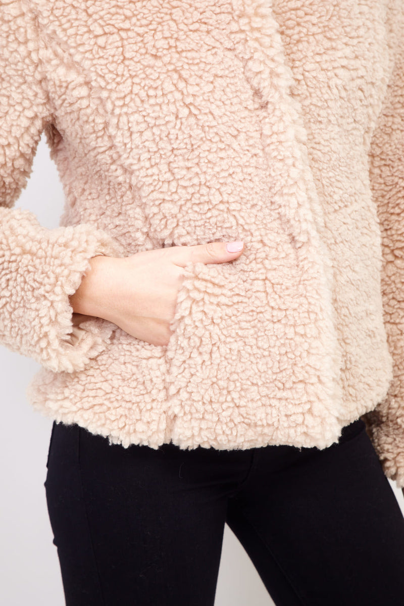 Beige | Teddy Fur Coat