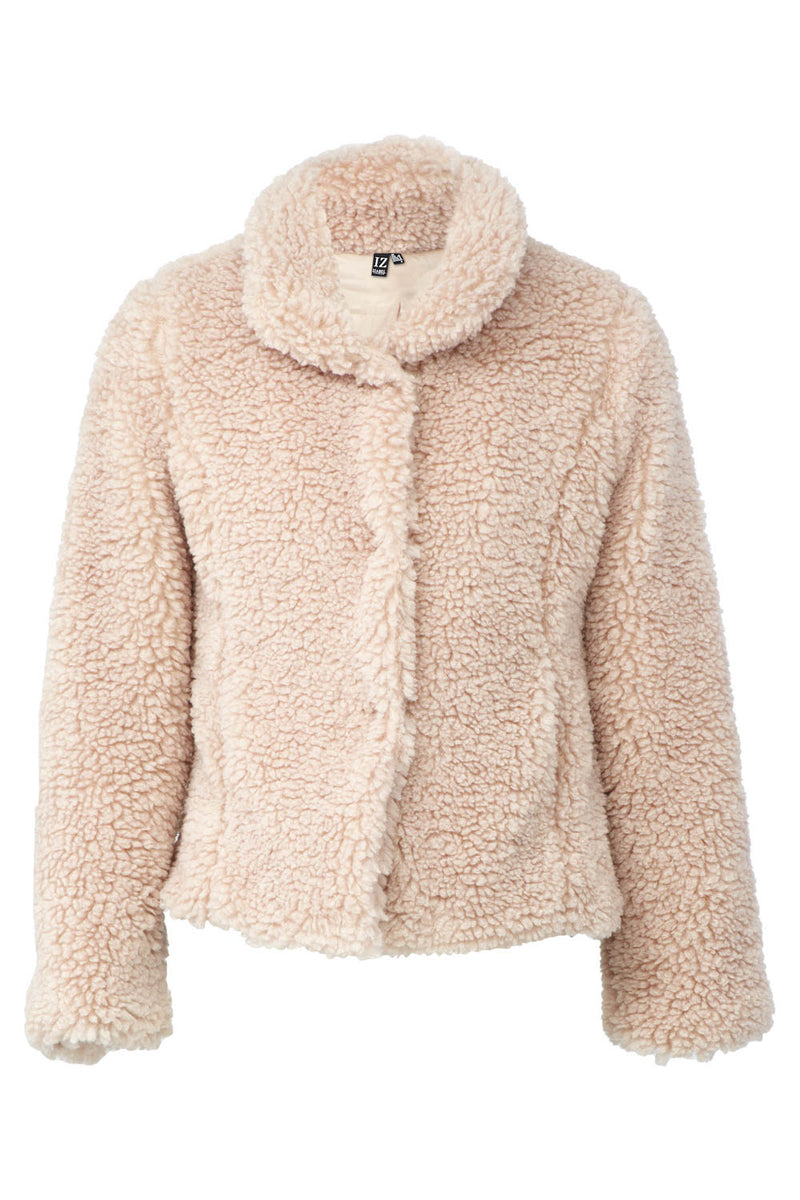 Teddy Fur Coat - Izabel London