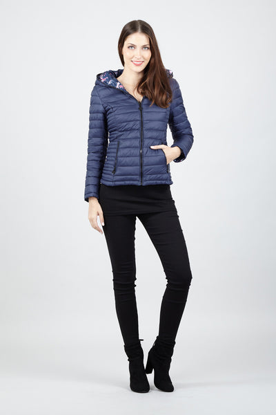Short Padded Jacket - Izabel London