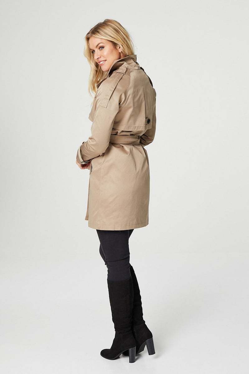 Beige | Tailored Trench Coat