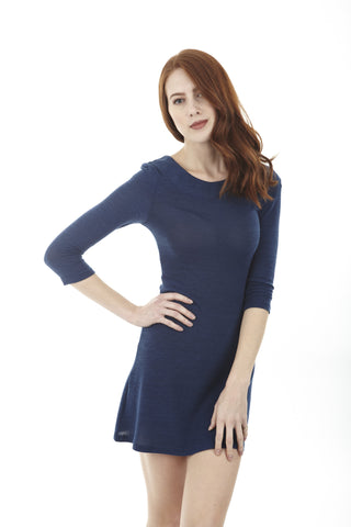 Double Collar Comfort Dress