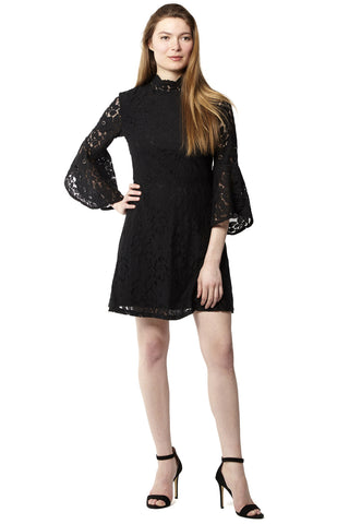 Oversized Tiered Lace Tunic Top