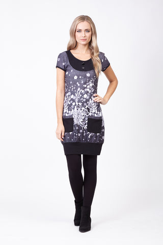 Drape Neck Tunic