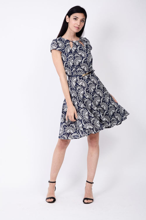 Damask Tea Dress