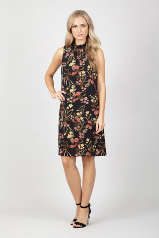 Curve Poppy Print Shift Dress