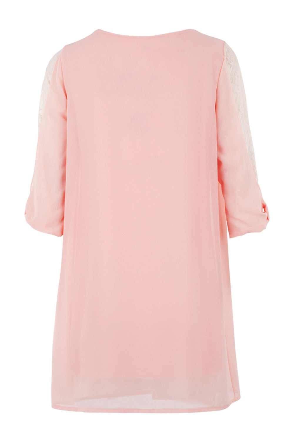 Lace Sleeve Smock Dress - Izabel London