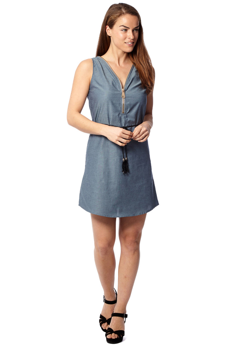 Blue | Tencel Denim Shift Dress