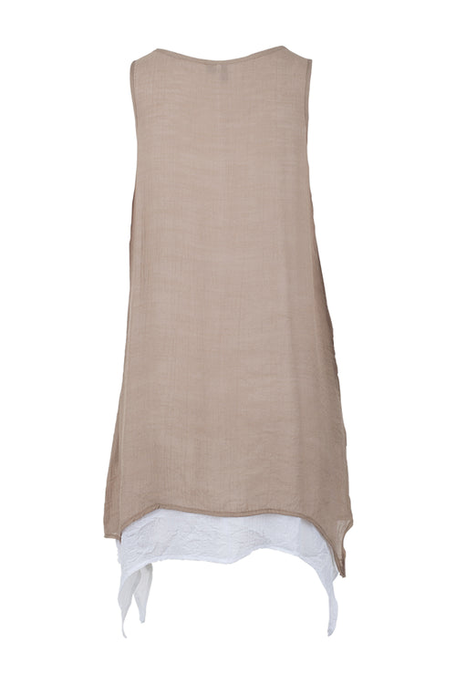 Layered Tunic Dress - Izabel London
