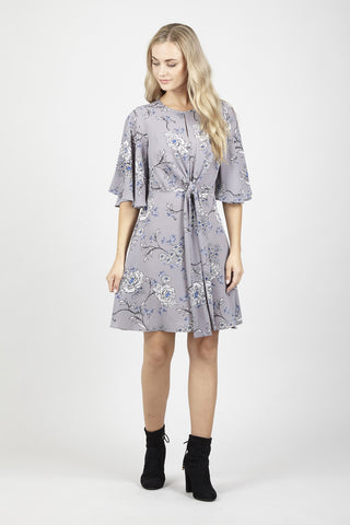 Curve Floral Tunic Dress
