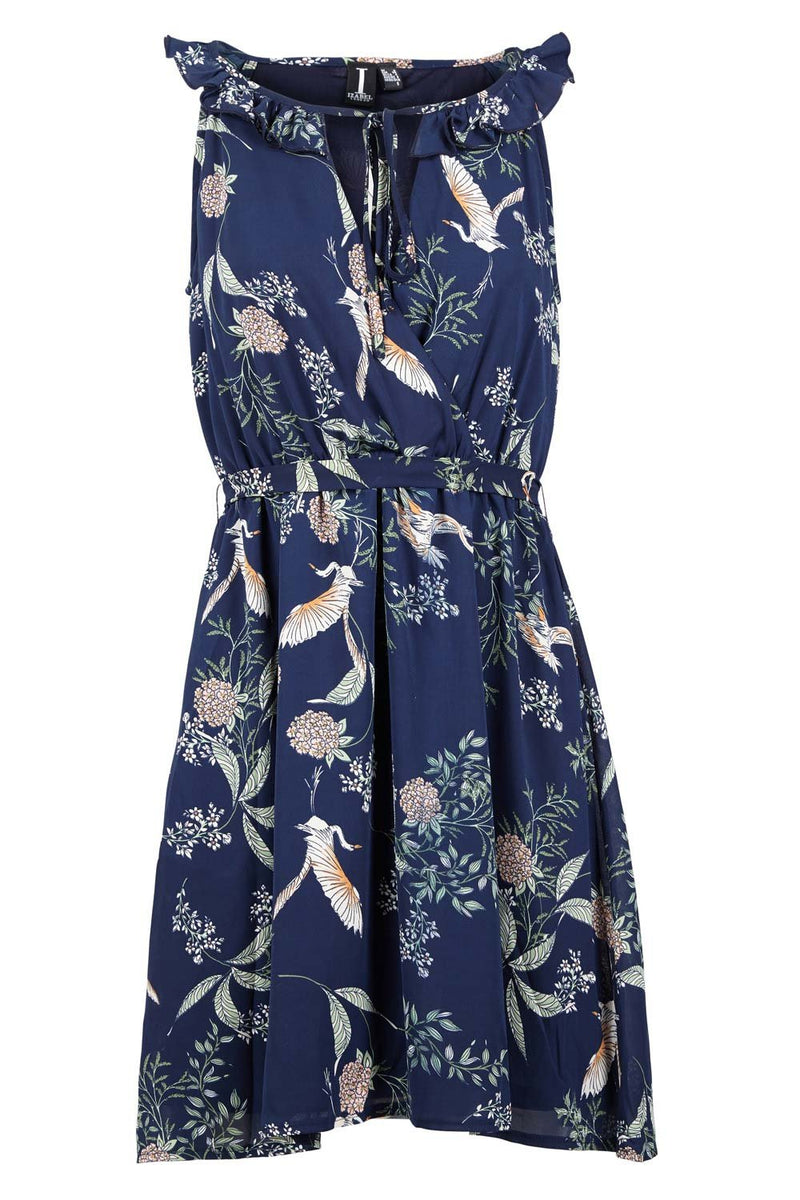 | Floral Tie Waist Dress | Izabel London