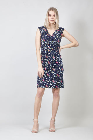 Bardot Knee Length Shift Dress