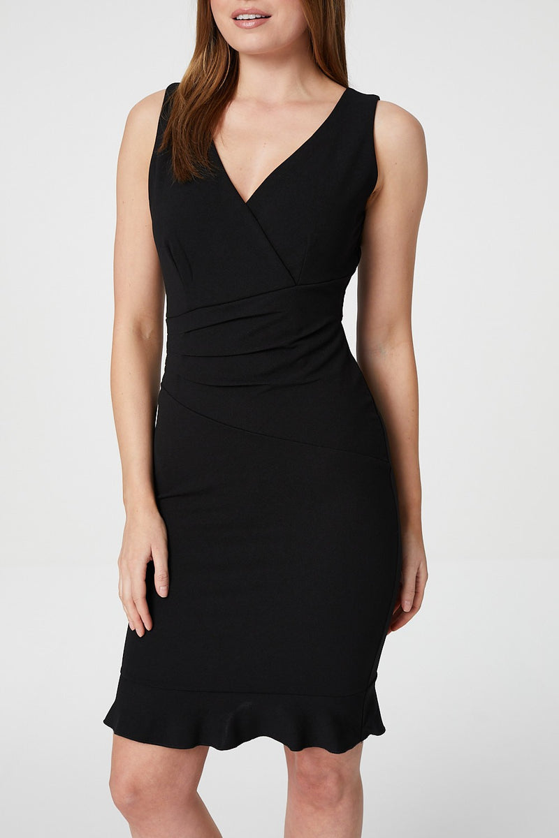 Black | Pephem Bodycon Cocktail Dress