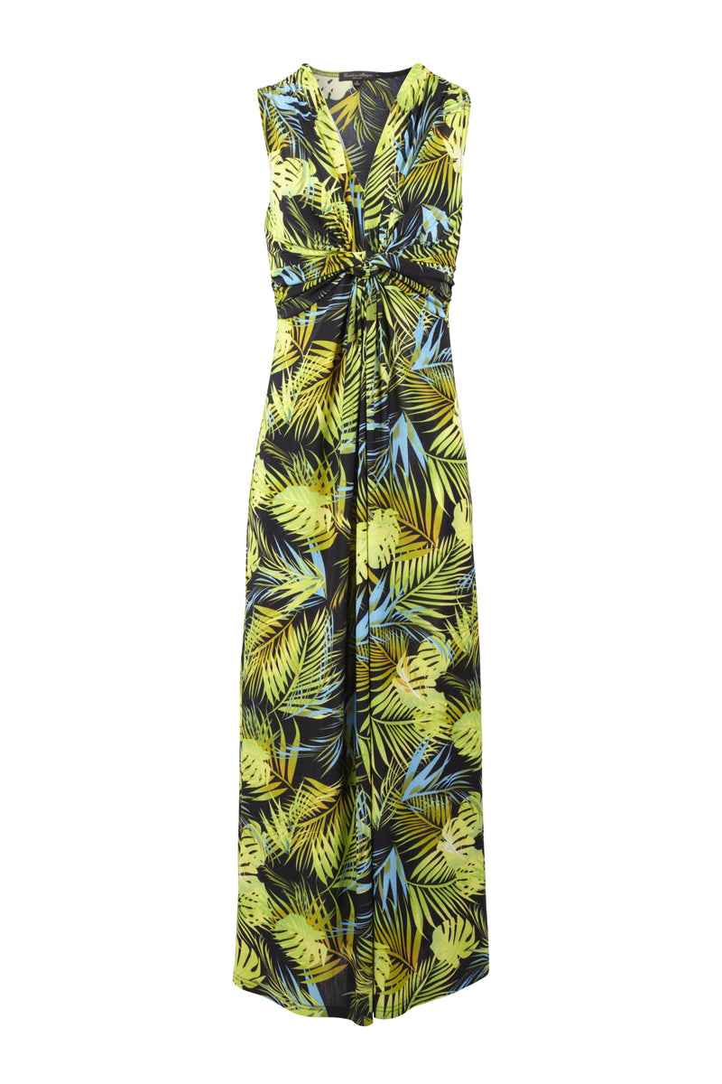Tropical Maxi Dress - Izabel London