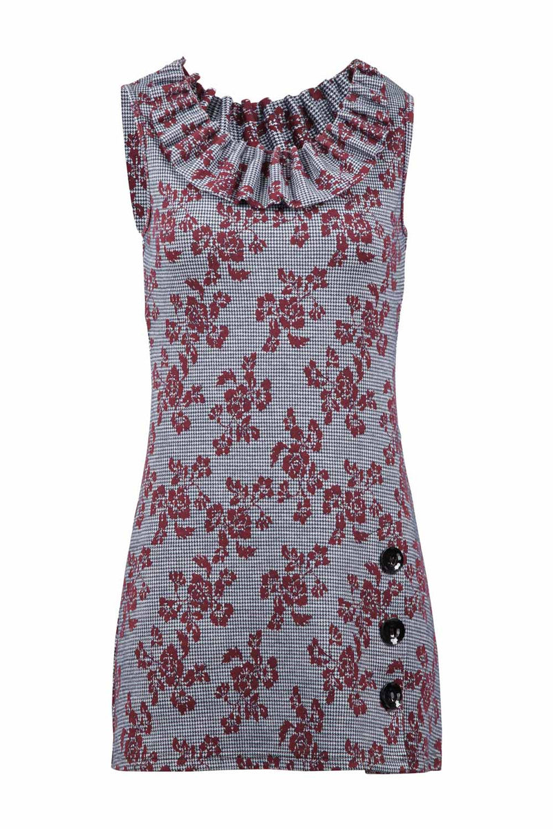 Floral Knit Dress - Izabel London