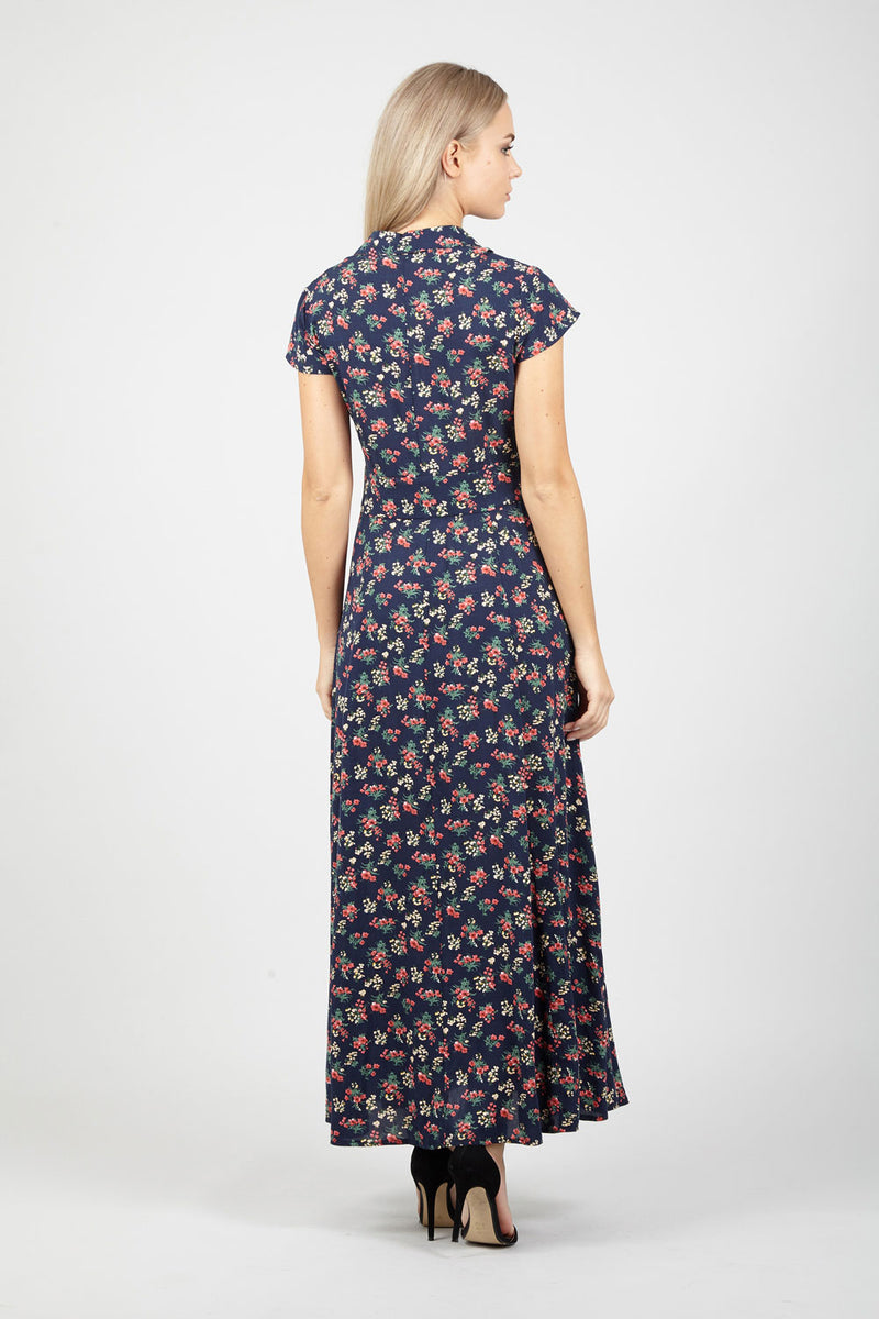 | Ditsy Floral Maxi Dress | Izabel London