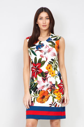 Floral Tie Back Dress