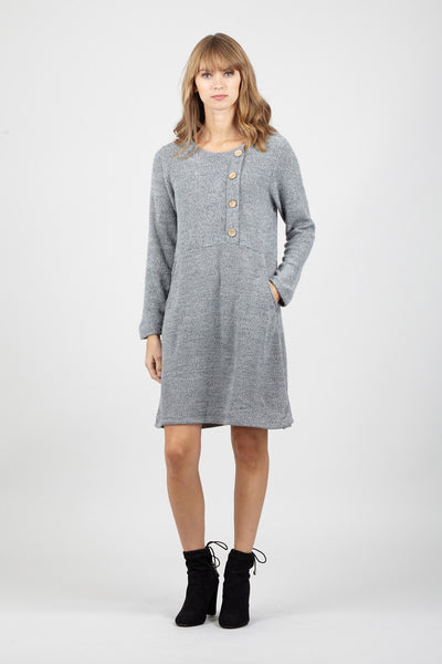 Knitted Midi Dress - Izabel London