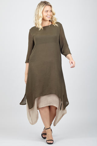Tie Side Wrap Dress